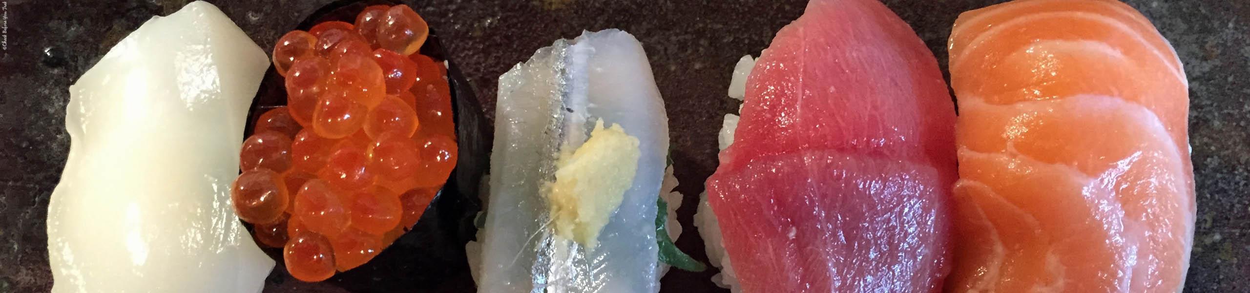 Featured Photo Osaka Eats, Sushi - Osaka, Japan